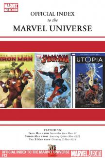 Official Index to the Marvel Universe #13