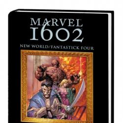 MARVEL 1602: NEW WORLD/FANTASTICK FOUR PREMIERE HC