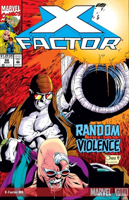 X-Factor (1986) #88
