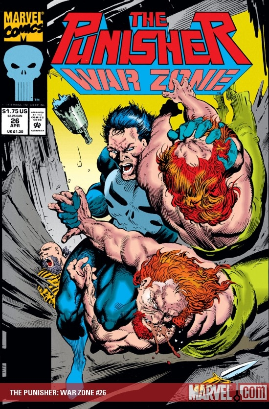 The Punisher War Zone (1992) #26