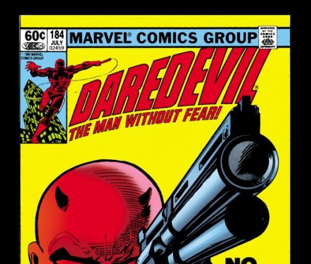 DAREDEVIL #184 COVER