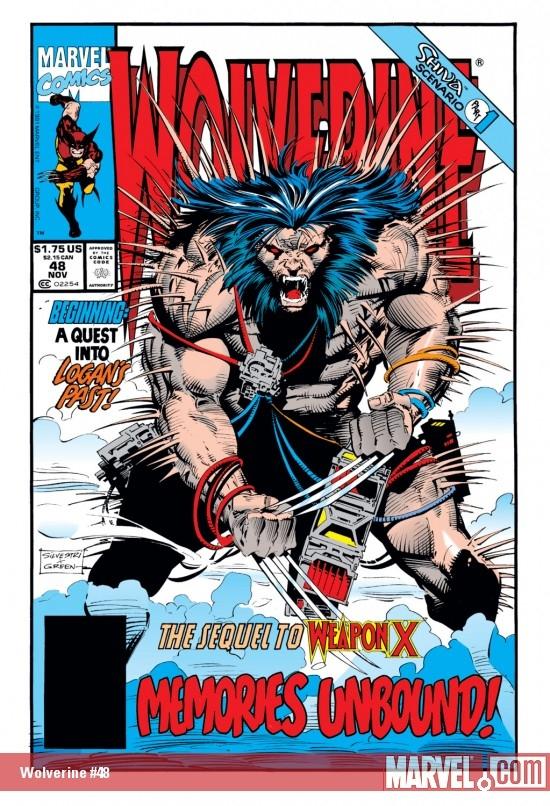 Wolverine (1988) #48