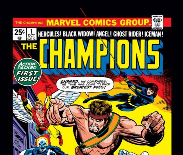 CHAMPIONS #1 COVER