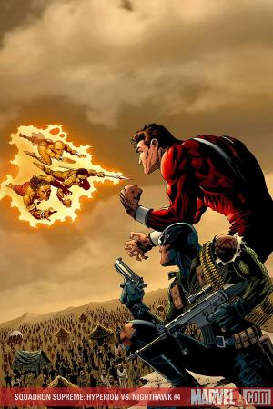 Squadron Supreme: Hyperion Vs. Nighthawk (2007) #4