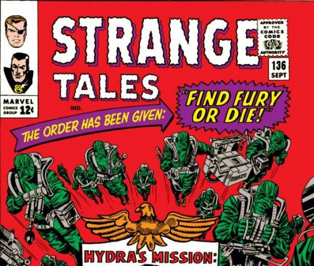 Strange Tales #136