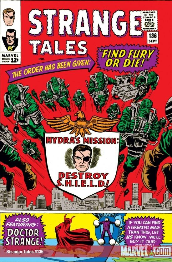 Strange Tales (1951) #136