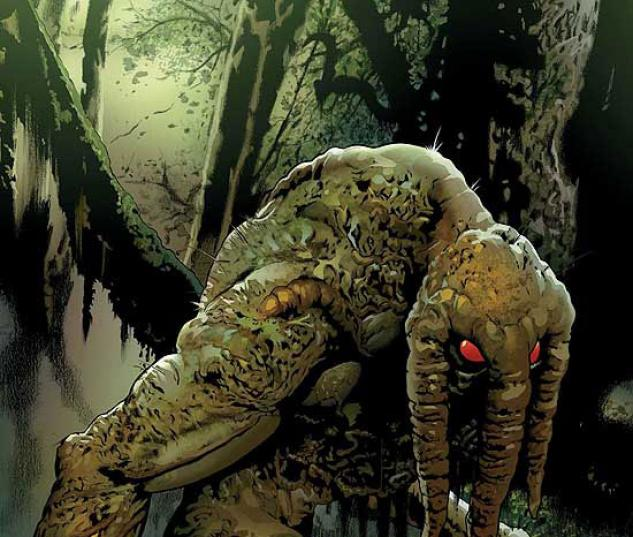 LEGION OF MONSTERS: MAN-THING (2008) #1 COVER