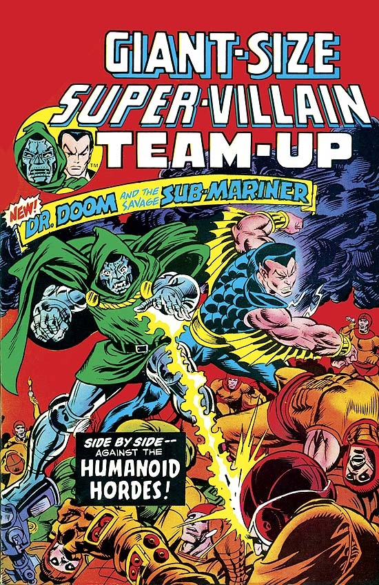 Essential Super-Villain Team-Up (Trade Paperback)