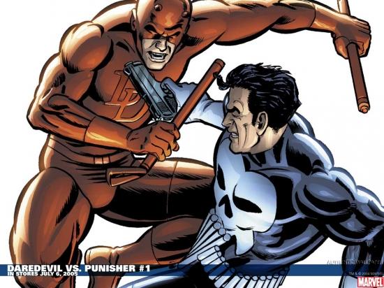 Daredevil Vs. Punisher (2005) #1 Wallpaper