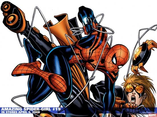 Amazing Spider-Girl (2006) #19 Wallpaper