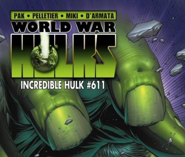 Incredible Hulks (2010) #611 (VARIANT)