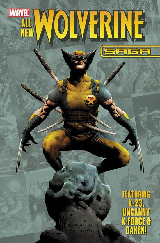 Wolverine Saga (2009) #1