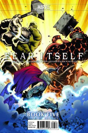 Fear Itself (2010) #5 (Immonen Variant)