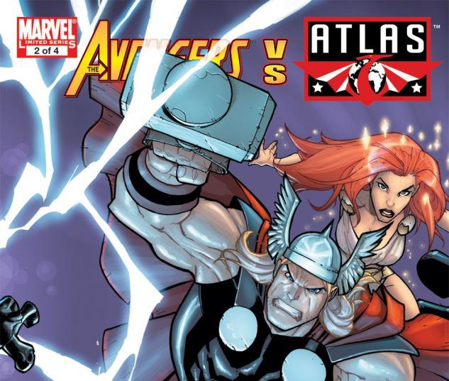 Avengers Vs. Atlas (2010) #2