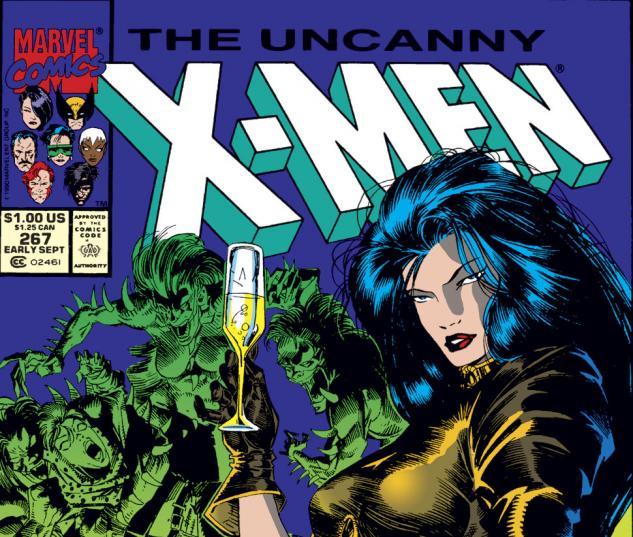 Uncanny X-Men (1963) #267 Cover