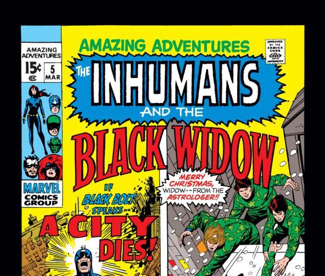 Amazing Adventures (1970) #5 Cover