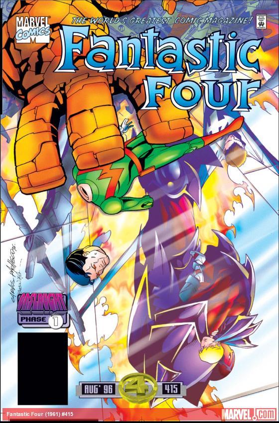 Fantastic Four (1961) #415
