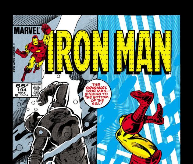 Iron Man (1968) #194 Cover