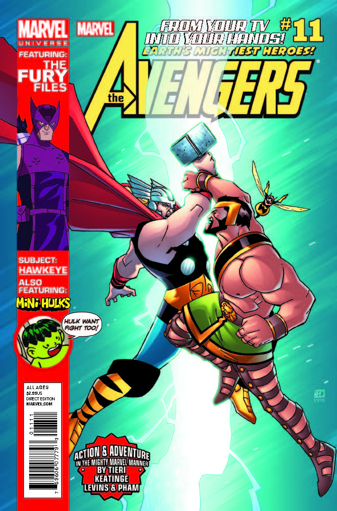 Marvel Universe Avengers: Earth's Mightiest Heroes (2012) #11