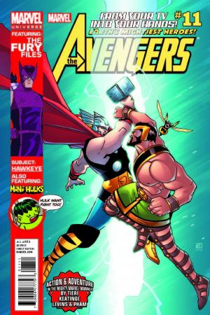 Marvel Universe Avengers: Earth's Mightiest Heroes #11