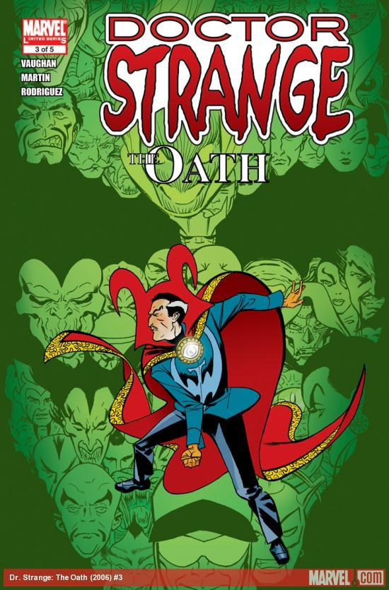 Doctor Strange: The Oath (2006) #3