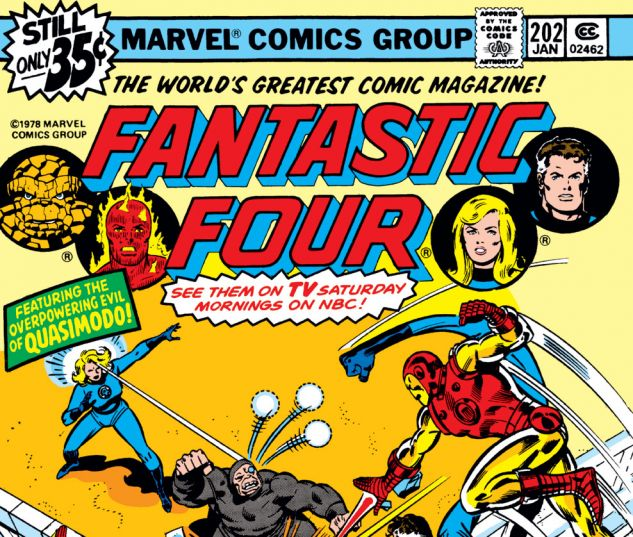 Fantastic Four (1961) #202 Cover