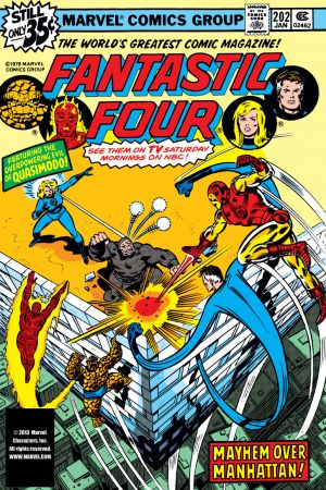 Fantastic Four (1961) #202