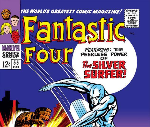 Fantastic Four (1961) #55