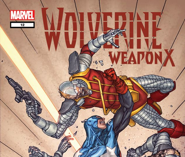 Wolverine Weapon X (2009) #12