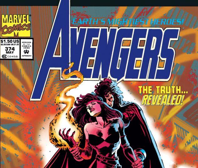 Avengers (1963) #374 Cover