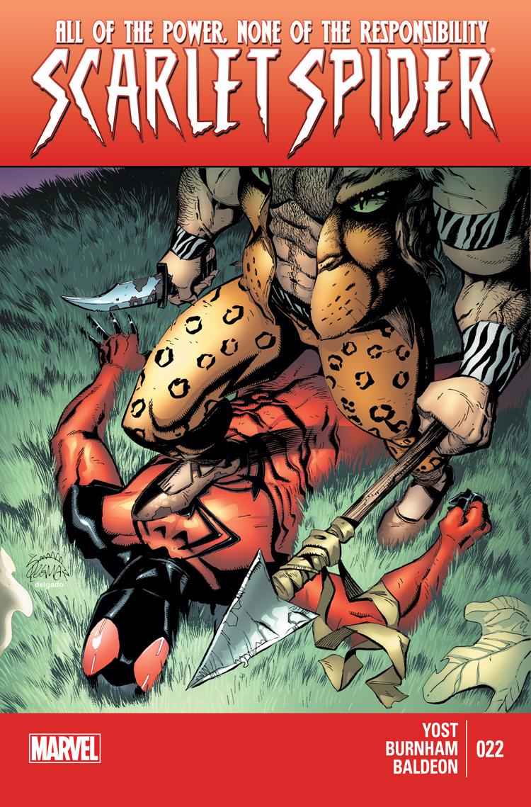 Scarlet Spider (2011) #22