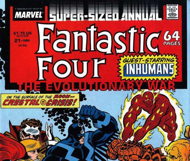 Fantastic Four Annual (1963) #21