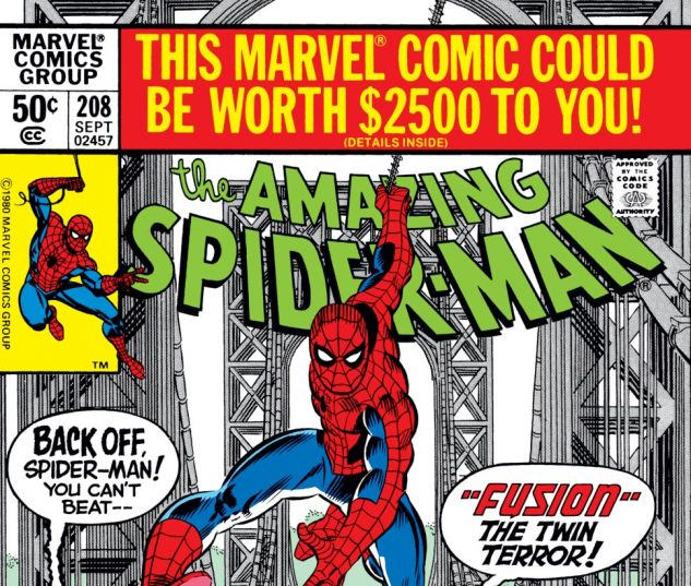 Amazing Spider-Man (1963) #208 Cover