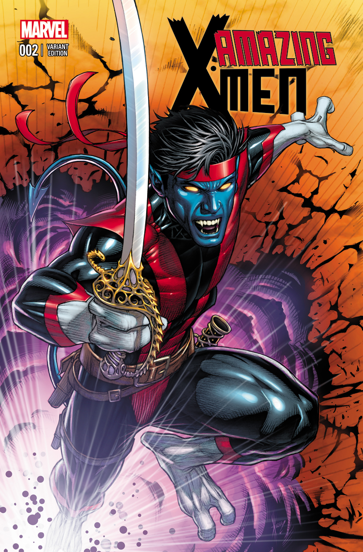 Amazing X-Men (2013) #2 (Keown Variant)