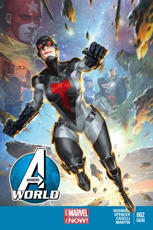 Avengers World (2014) #2 (Yoon 2nd Printing Variant)