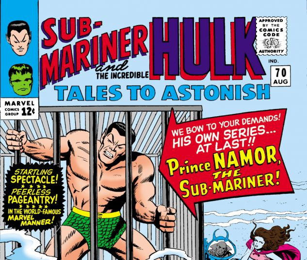 Tales to Astonish (1959) #70 Cover