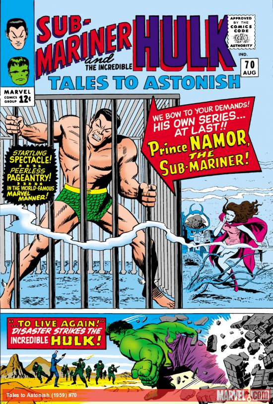 Tales to Astonish (1959) #70