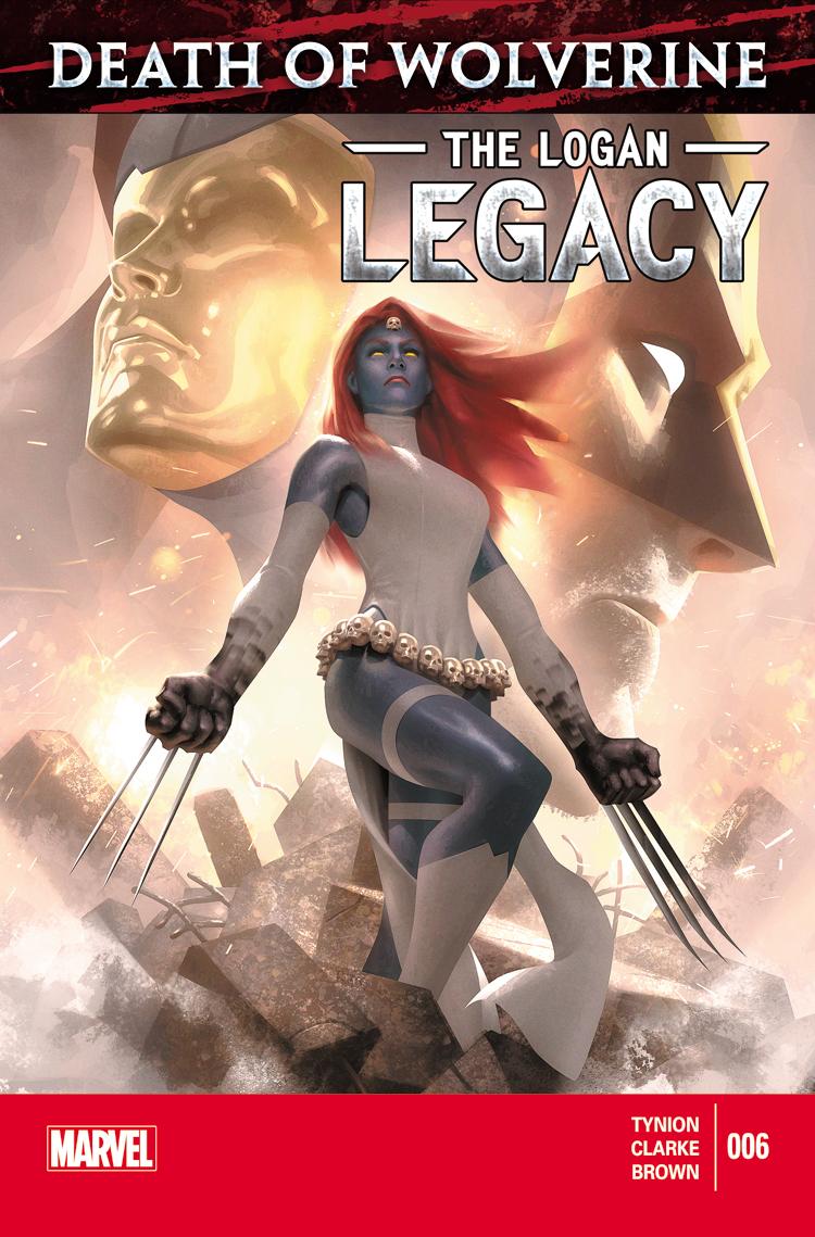 Death of Wolverine: The Logan Legacy (2014) #6