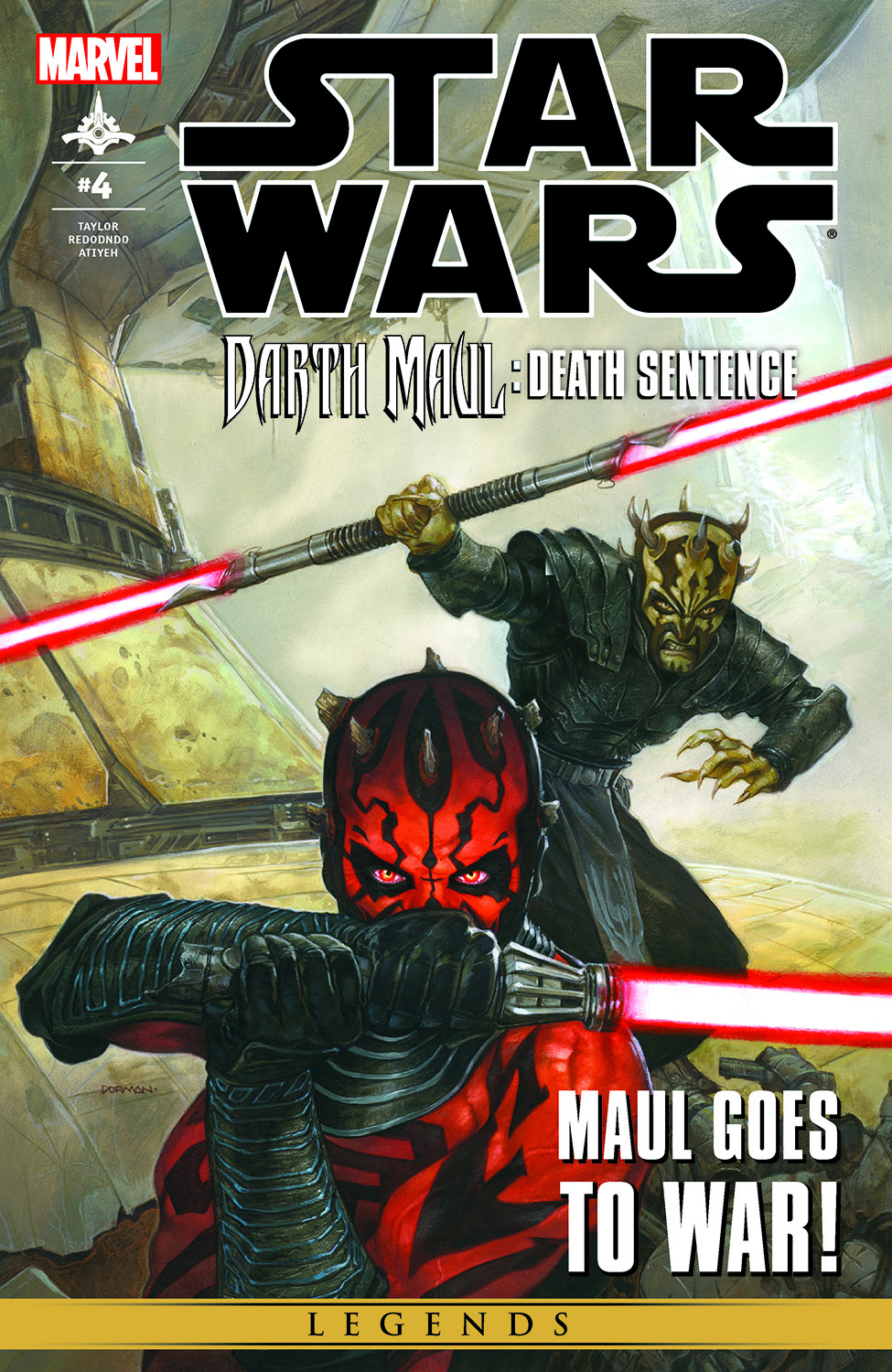 Star Wars: Darth Maul - Death Sentence (2012) #4