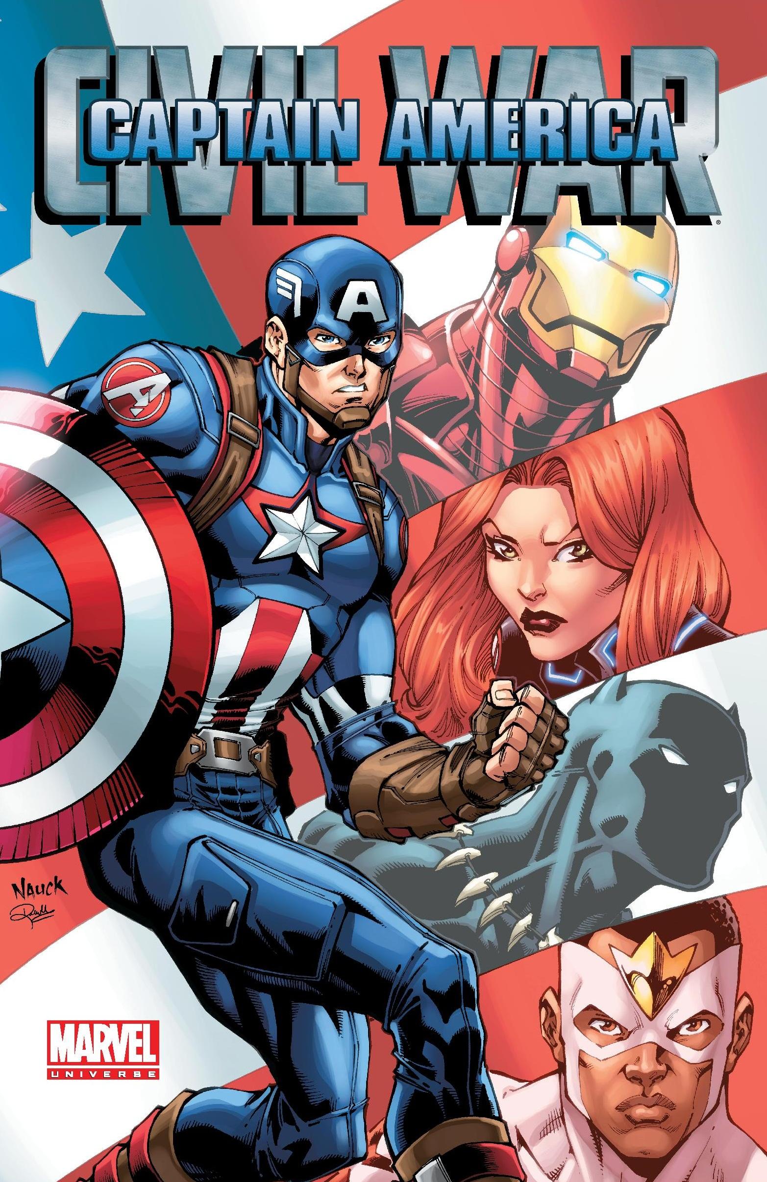 Marvel Universe Captain America: Civil War (Digest)