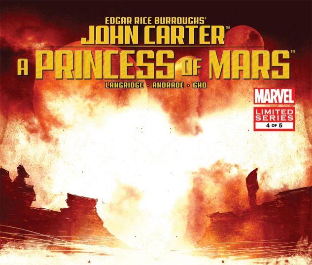 JOHN CARTER OF MARS: A PRINCESS OF MARS (2011) #4 Cover
