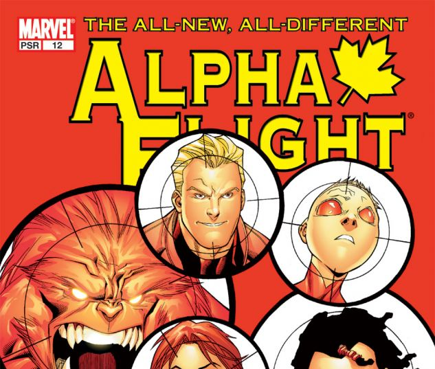 ALPHA FLIGHT (2004) #12 Cover