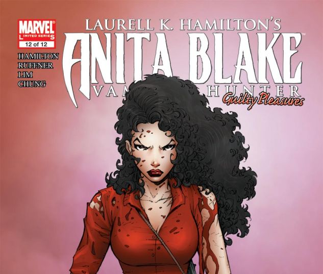 ANITA BLAKE, VAMPIRE HUNTER: GUILTY PLEASURES (2006) #12 Cover
