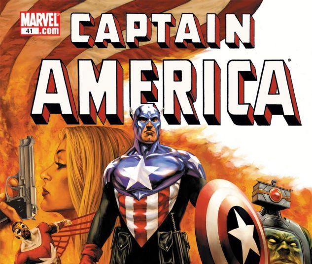 CAPTAIN AMERICA (2004) #41 Cover