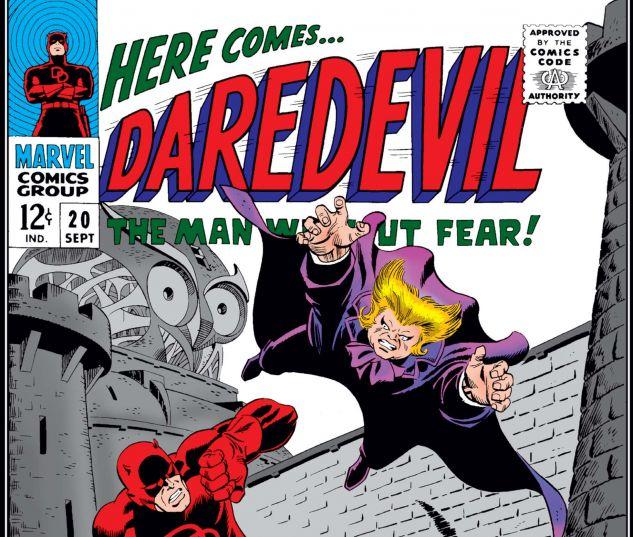 DAREDEVIL (1964) #20 Cover