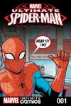 cover from Ultimate Spider-Man Infinite Comic (2016) #1