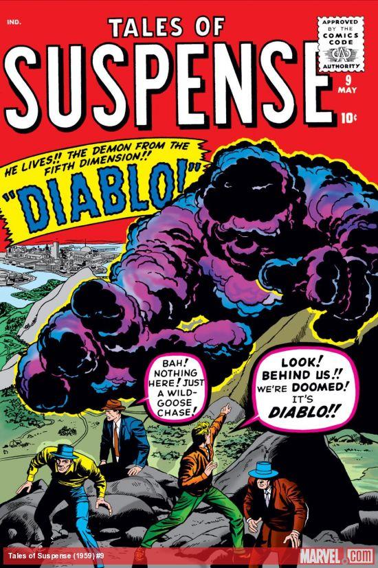 Tales of Suspense (1959) #9