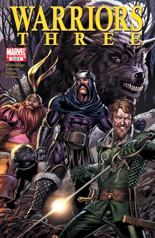 Warriors Three (2010) #3