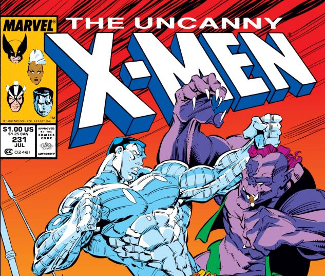 Uncanny X-Men (1963) #231