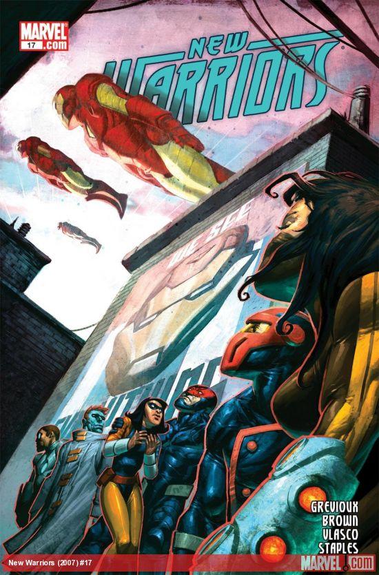 New Warriors (2007) #17